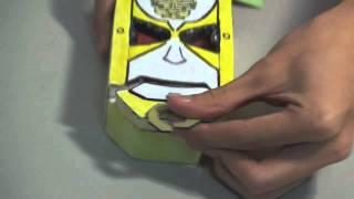 天装戦隊ゴセイジャー Tensou Sentai Goseiger Homemade Model