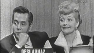 What's My Line? - Lucille Ball & Desi Arnaz (Oct 2, 1955)