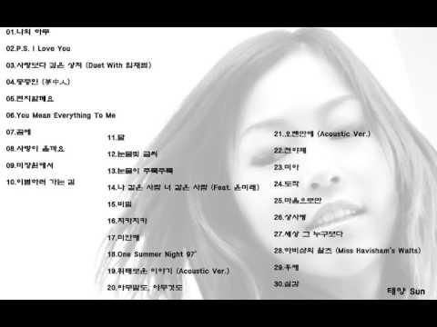 박정현 베스트 모음 30곡
