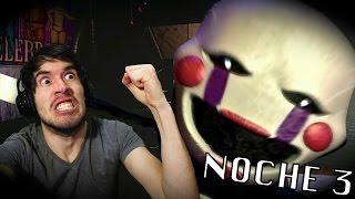 QUE DEMONIOS FUE ESO?? | Five Nights At Freddy's 2: Noche 3 - JuegaGerman