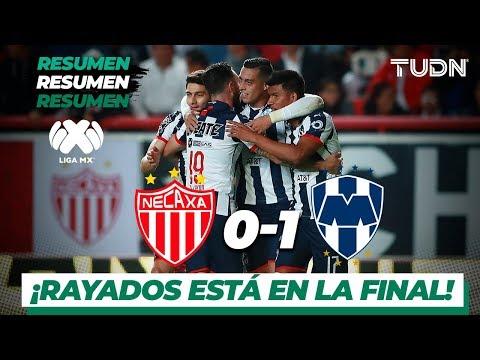 Resumen y goles | Necaxa 0 - 1 Rayados | Liga Mx - Ap 2919 - Semifinal | TUDN