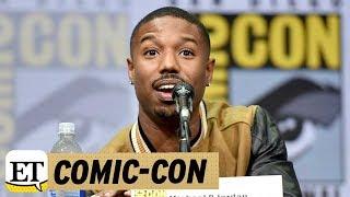 EXCLUSIVE: Michael B. Jordan Talks 'Black Panther' and His Sex Symbol Status: 'Who Me?'