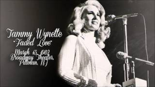 Tammy Wynette - Faded Love [ Live   1982 ]