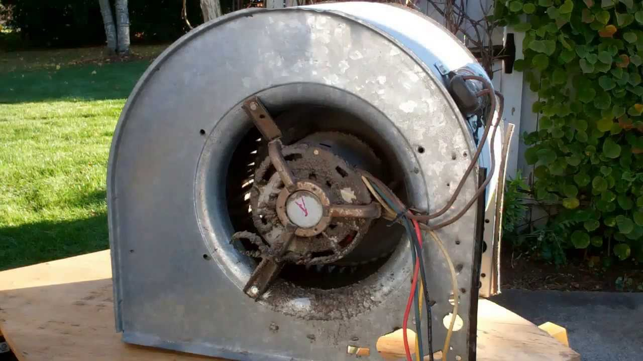 American Standard Blower Motor Removal Part 1 Of 4 Youtube