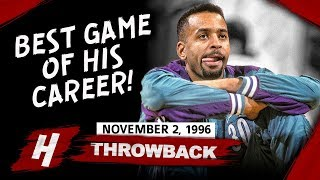 Dell Curry (Steph's Father) FULL Career-HIGH Highlights vs Raptors 1996.11.02 - 38 Pts, 6 Threes!