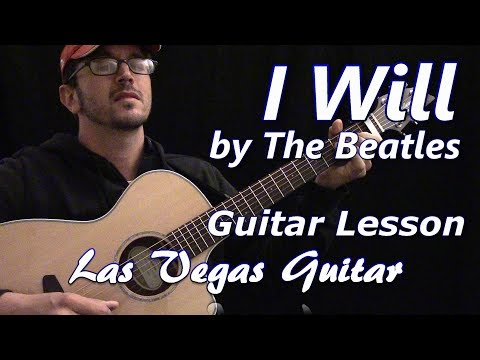 I Will by The Beatles Guitar Lesson