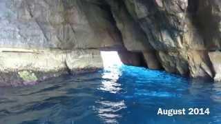 Malta's famous Blue Grotto