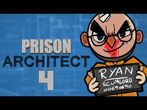 Prison Architect (Alpha 25) - Northernlion Plays - Episode 4 [Oops]