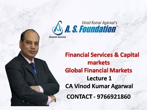video CA final Financial Services and Capital Markets By CA Vinod Kumar Agarwal
