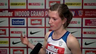 Sophie Hahn - Muller Indoor Grand Prix Glasgow