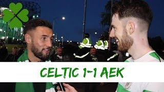 Celtic 1-1 AEK Athens | Full-time Reaction