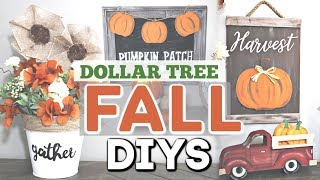 DIY Dollar Tree FALL Decor 2019 | Fall Home Decor DIY Crafts | Krafts by Katelyn