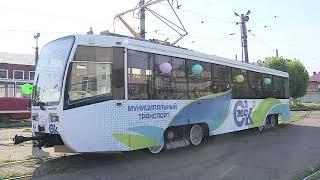 На маршрут сегодня вышел первый трамвай из Москвы