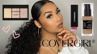 MY FIRST TIME USING COVERGIRL PRODUCTS... | TheAnayal8ter