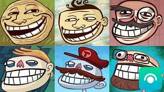 /troll face quest all games gameplay walkthrough all levels ios android