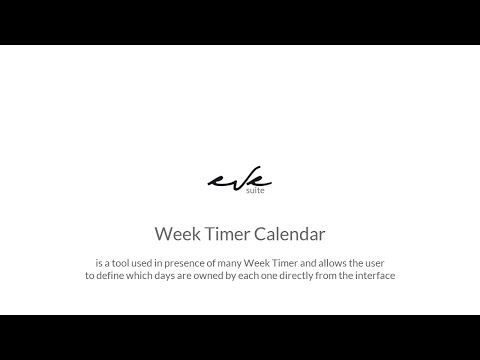 EVE plugin module: Week Timer Calendar