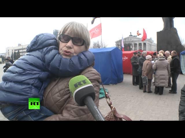 Русскоязычные жители востока Украины боятся за свою жизнь