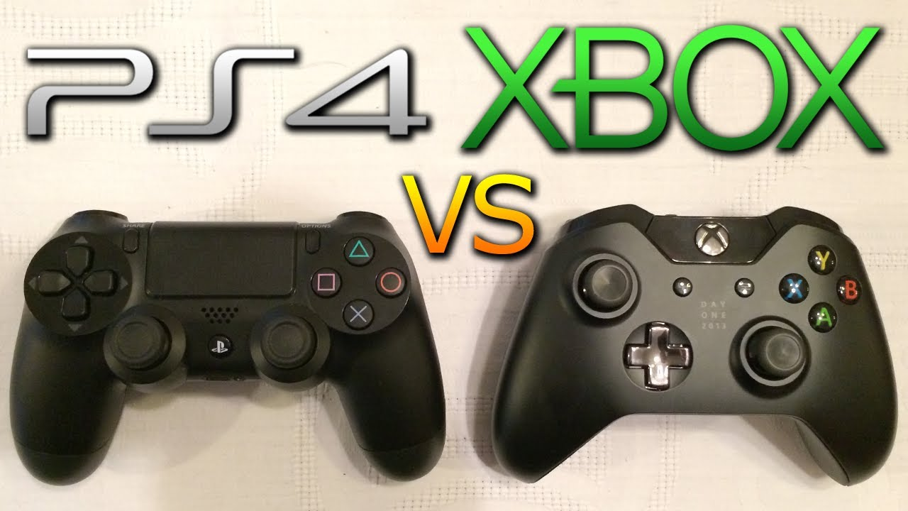 Xbox One vs PS4 Controller WHICH IS THE BEST