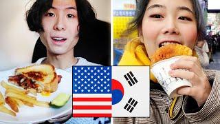 A Week Of Food: South Korea Vs. USA
