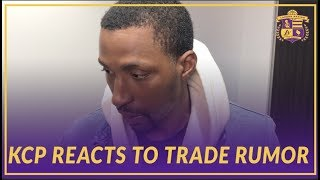 Lakers Post Game: KCP Reacts to Recent Trevor Ariza Trade Rumor
