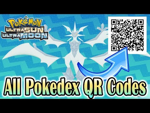 how to use qr codes in pokemon ultra sun