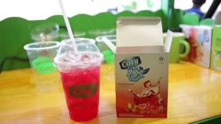Phim giới thiệu mô hình kinh doanh và hướng dẫn pha chế trà sữa túi lọc Cozy