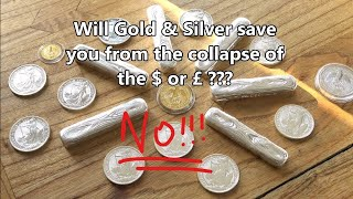 Venezuela - Why Gold & Silver will NOT save you in a financial collapse!