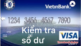 Agribank : cách xem số dư trong thẻ ATM