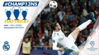 Champions League FINAL | Real Madrid 3 - 1 Liverpool | FULL ...