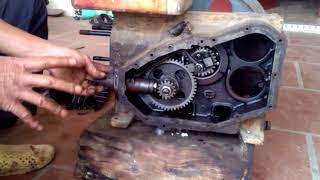 Hướng dẫn kỷ thuật lắp ráp động cơ d8 Trung Quốc.Phần 7: Phương pháp lắp ráp bơm cao áp.