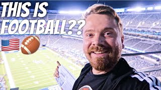 SCOTTISH REACTION TO AMERICAN FOOTBALL 🏈