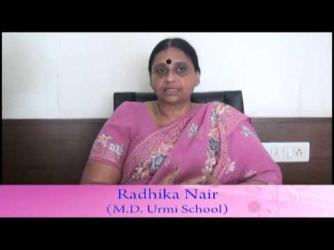 SafalShiksha.com Testimonial by Radhika Nair (M.D Urmi School)