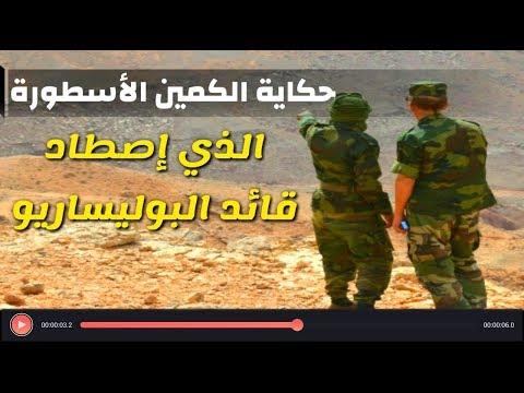 بالفيديو..شاهد ماذا حصل لقائد من البوليساريو حاول اختراق الجدار الأمني المغربي