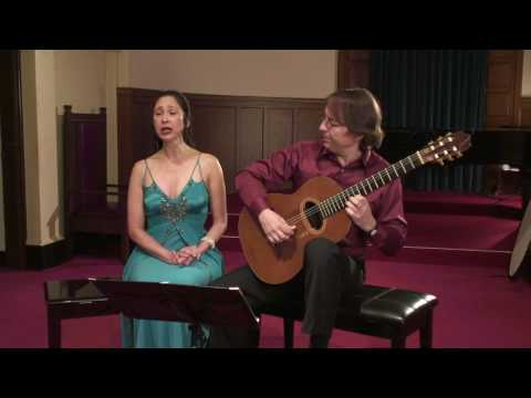 Ay lindo amigo with Vismaya Lhi - soprano and Dusan Bogdanovic - guitar