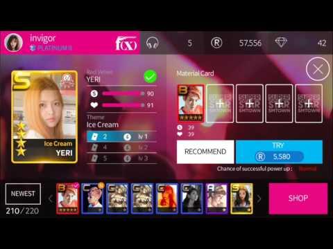 [SuperStar SMTown] Red Velvet all R making (Ice Cream Cake theme)