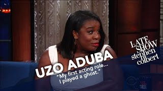 Uzo Aduba Says Overcome Fear And 'Just Go For It'