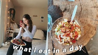 what I eat in a day 2019
