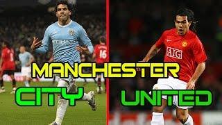 Top 10 cầu thủ thi đấu cho cả Manchester city vs Manchester United.