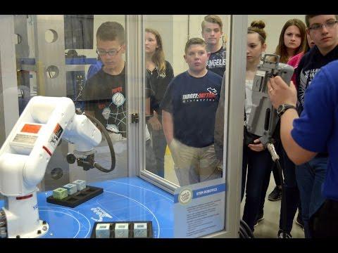STEM Robotics Student Tours