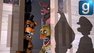 Gmod FNAF | The Withereds Get Trick Or Treaters!