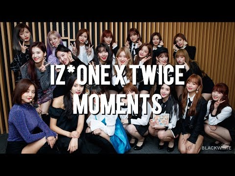 IZ*ONE Nako The Biggest TWICE Fangirl + IZ*ONE X TWICE MOMENTS #1