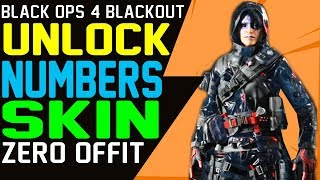 BLACKOUT HOW TO UNLOCK THE NUMBERS SKIN - New Blackout Specialist Outfit The Numbers How To Get