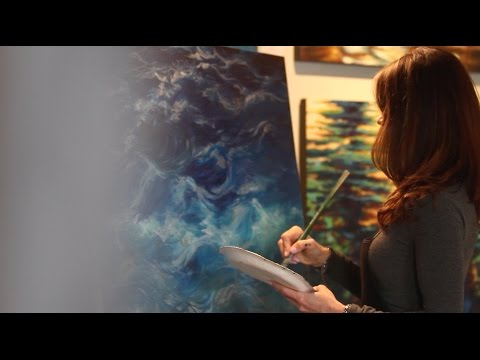 ORIGINAL SC   Water Artist Elena Madden
