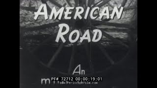 """HISTORY OF THE AUTOMOBILE  FORD MOTOR COMPANY DOCUMENTARY """"THE AMERICAN ROAD""""  72712"""