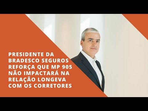 Imagem post: Presidente da Bradesco Seguros reforça que MP 905 não impactará na relação longeva com os Corretores