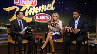 """Jimmy Kimmel Lies -- """"LIVE with Kelly and Michael"""" Podcast -- Monday, 5/13/2013"""
