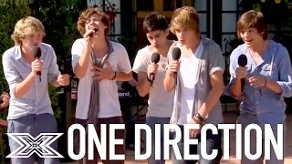 One Direction's X Factor Journey | First Audition To Final Performances