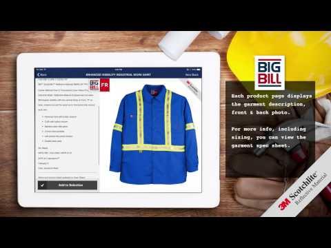 BIG BILL Product Selector APP (Short Length Video)