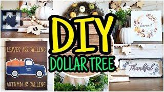 Dollar Tree DIY Fall Decor 🍁