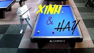 2 em gái dễ thương đánh bida max hay - Billiards 3 cushion hotgirl